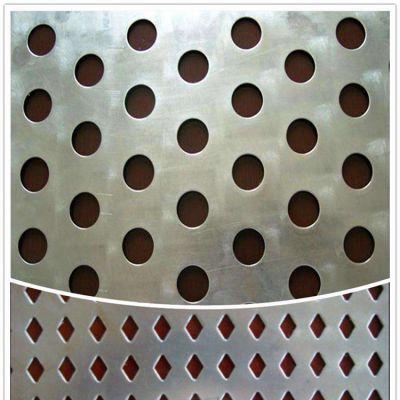 重型冲孔板 幕墙冲孔板 汽车防滑板