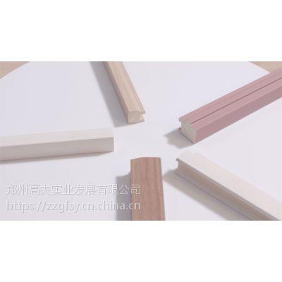 实木包覆橱衣柜厂家,环保易加工实木线条,硬杂木基材不开裂不变形