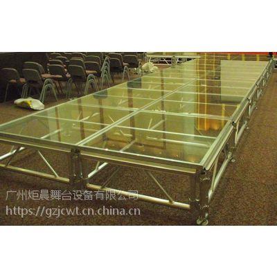 6061-T6 玻璃舞台 组装迅速的安全舞台