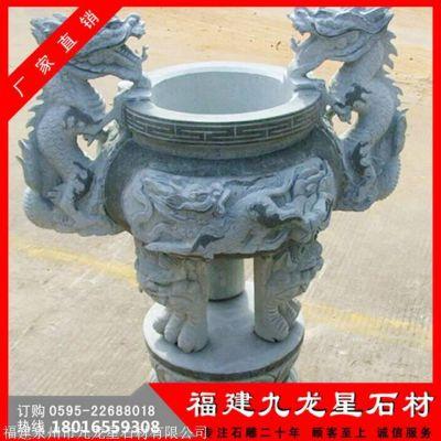 石雕香炉生产厂家 654石雕香炉图片 狮子石香炉