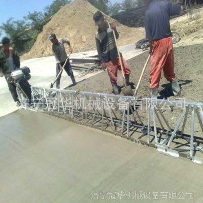 冠华生产混凝土路面振动梁 福建本田汽油机框架式振动梁
