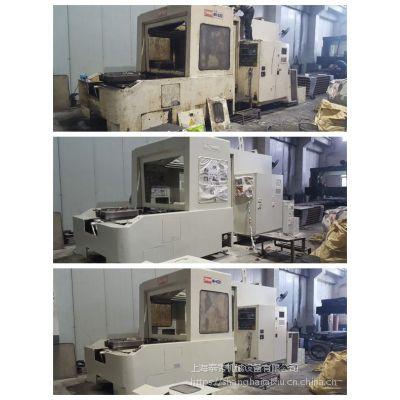 华兴镗床喷漆,机床翻新,机械设备翻新喷漆