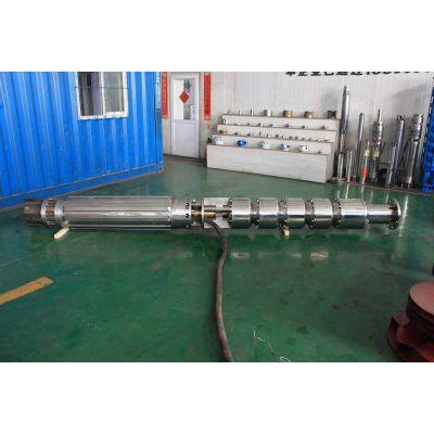 450方流量变频卧式潜水泵_矿坑_斜井_隧道施工抽水潜水泵选型