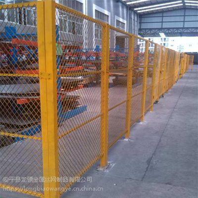 仓库专用隔离护栏 工厂车间隔离栏 场地格栅网厂家