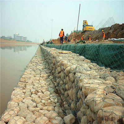 长期供应河道工程防护网 镀锌石笼网 锌铝合金石笼网 环标丝网
