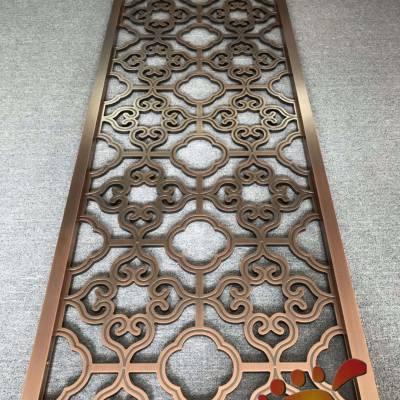 艺术仿古铜铝板雕刻隔断屏风2019各种新款惊艳登场