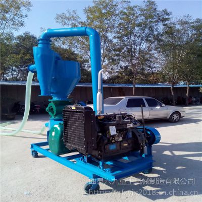高扬程气力吸粮机知名 加除尘软管吸粮机