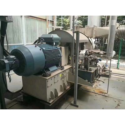 长期出售二手MVR蒸发器,2吨双效钛材降膜蒸发器, 附件齐全