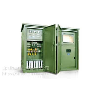 金乡美式箱式变压器 山东组合式变电站 山东顺昌精巧变压器可租赁