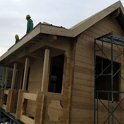 庭院木屋厂家-大同木屋厂家-山西大茂森木制品公司