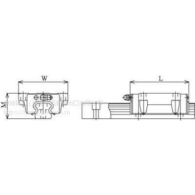 THK直线导轨 HSR15B 原装进口