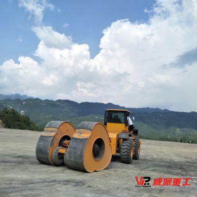 海南冲击压路机 冲击式压路机 郑州威派大品牌值得信赖