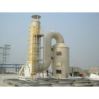 苏州家具厂处理风量 20000 m3/h废气净化设备、清科环保致力于工业废气处理工程