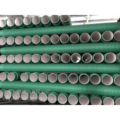 汇昌管业 湖南长沙PP-HM双壁波纹管 HDPE双壁波纹管道 厂家直销
