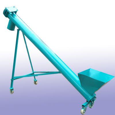 粮库运粮提升机 自由抽粪的提升机 倾斜式圆管上料机