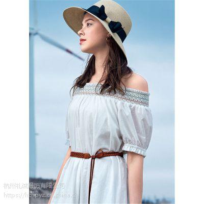 杭州品牌折扣女装店货源华丹尼19春夏一手货源进货渠道