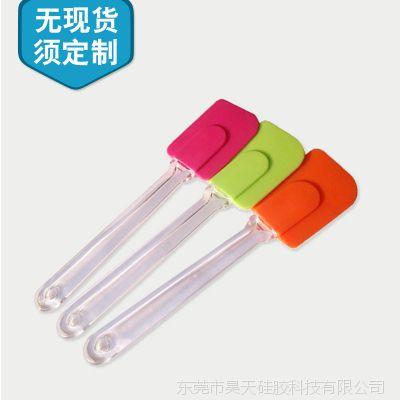 OEM定制硅胶刮刀 食品级硅胶一体刮刀 分体硅胶刮刀生产厂家定做