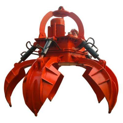 亨展直销电动不锈钢抓斗 马达抓斗 加工定制起重机1立方四绳抓斗