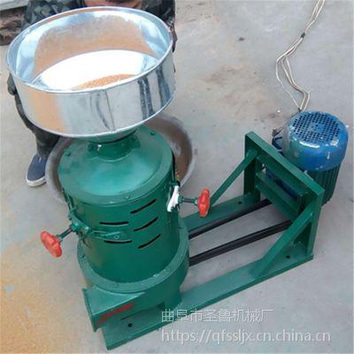 新型砂辊脱皮碾米机/高粱谷子去皮碾米机/圣鲁牌