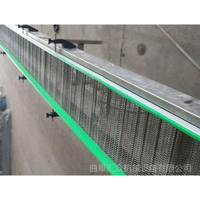 湖北挡板网带输送机 提升爬坡输送