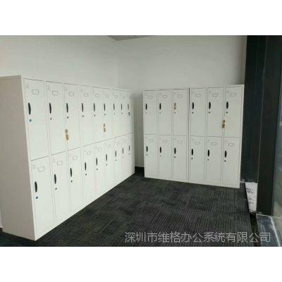 厂家热销WEBBER钢制六门更衣柜 宿舍更衣柜支持订做 储物柜出口