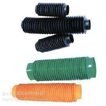 .大型数控机床丝杠防护套/圆筒式伸缩护罩客户定制