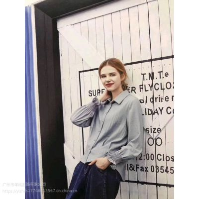 上海品牌折扣女装长袖连衣裙拉素春装品牌折扣店去哪里进货
