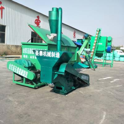 粮食饲料机组生产厂家 圣泰牌精料饲料机组图片 整机三包