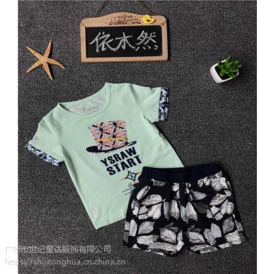 广州依木然尾货服装批发市场夏季T恤