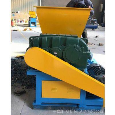 阜新废料撕碎机塑料桶粉碎双轴撕碎机 现货供应