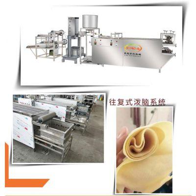 小型豆腐皮机器 自动豆腐皮机的价格 占地小好操作