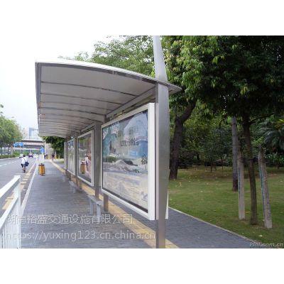 怀化市区候车亭哪家厂家制作,裕盛公交候车亭销售占湖南市场80%比例