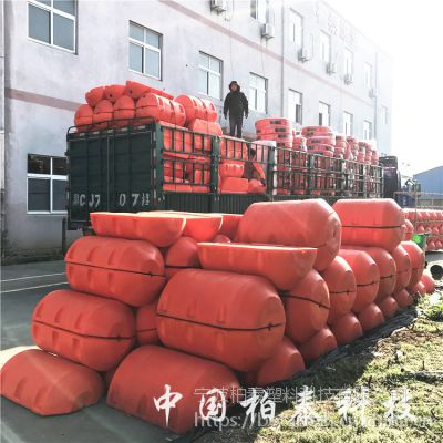 云南罗闸河水电站拦漂装置浮筒 浮筒式拦污漂排