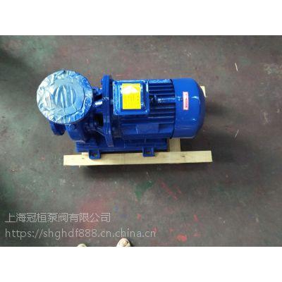 优质卧式管道泵 ISW65-100I 50M3/H 扬程12.5M 3KW 浙江兰溪冠桓泵阀