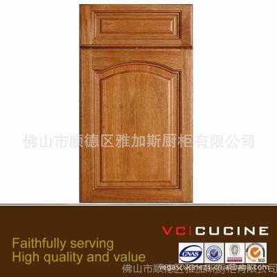 简约古典风格实木橱柜/衣柜门板定做出口 款色颜色多样可选择