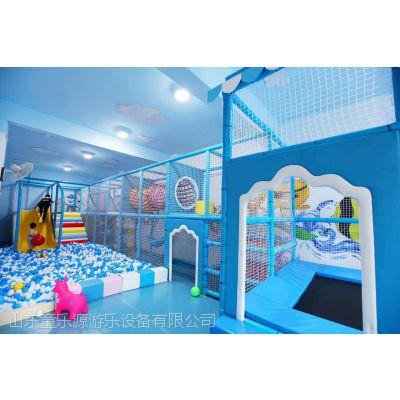 淘气堡设备 滨州儿童淘气堡亲子互动 儿童木质滑梯