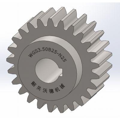 供应标准直齿轮【 M3.50 】,B型,精密齿轮,正齿轮