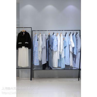 伊袖精品女装尾货批发折扣 女装杭州尾货批发市场在哪里批发灰色职业女装