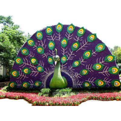 真植物仿真可爱植物雕塑 四川成都绿雕造型定制