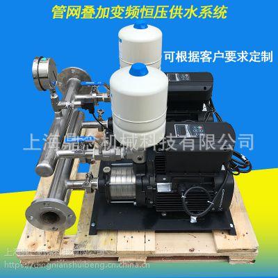 内置格兰富泵卧式CM10系列全自动自吸泵双泵变频供水设备厦门市厂家直销