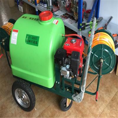 100L手推式打药机农用果园风送喷药机自走式小麦蔬菜汽油打药机