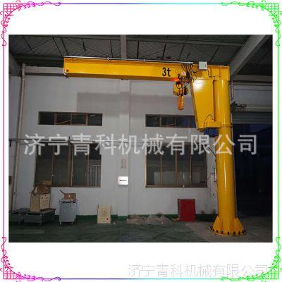 5吨货物升吊机 立柱式起吊机 码头仓库固定场所货物起重机设备