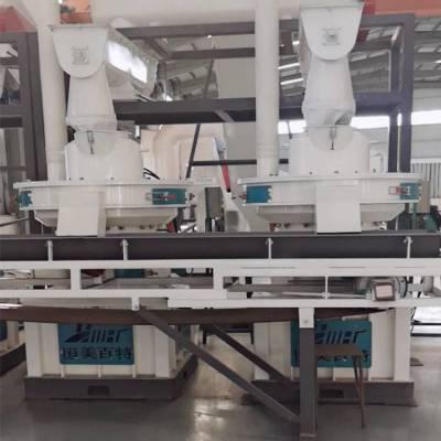 贵州遵义木屑颗粒机 新型132KW颗粒机生产线 恒美百特