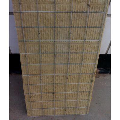 双面插丝保温岩棉板真正产地厂家