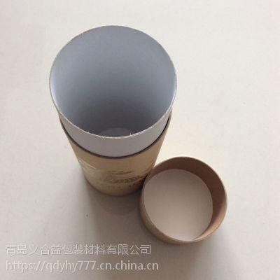 定制牛皮纸罐包装 玩具布偶外包装印刷可定制 义合益纸罐厂家
