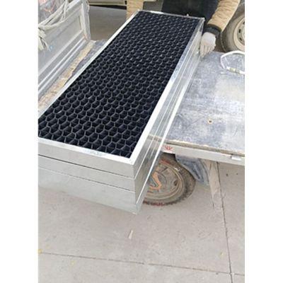 进风格栅可任意定制 冷却塔填料进风窗 黑色PVC材质 品牌华庆