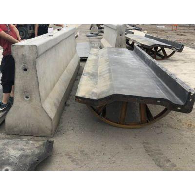 华庆模具(图)-高铁防撞墙模具-南平防撞墙模具