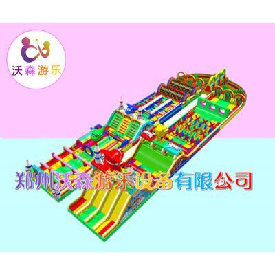 广西玉林夏季水上游乐园户外陆地闯关设备厂家设计图