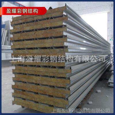 生产供应  防火保温泡沫夹芯板 彩钢泡沫夹芯板隔墙 保温材料定制