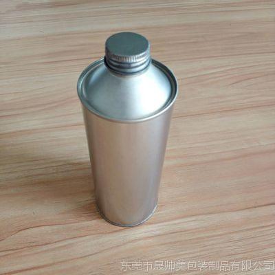 晟帅美制罐厂 螺纹口铁罐 马口铁罐 清洗剂金属罐 400ml 机油添加剂瓶 气雾瓶